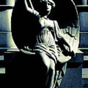 Art Deco Angel Poster