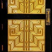 Art Deco Door Poster