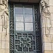 Art Deco Window Poster