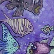 Fish Art Poster