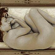 Art For The Sake Of Art Woman Framed 3 Poster