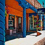 Art Gallery In Taos Poster