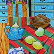 Art In The Kitchen Poster