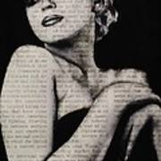Art In The News 13-marilyn Poster