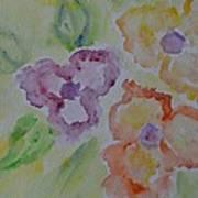 Art Of Watercolor Poster