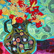 Artful Jug Poster by Diane Fine