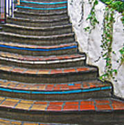 Artful Stair Steps Poster