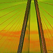 Arthur Ravenel Jr Bridge V Poster