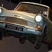 Arthur's Flying Ford Anglia Poster