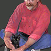 Artist At Play Poster