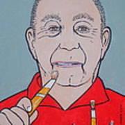 Artist Paints Artist Poster