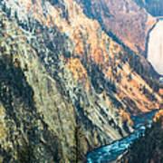 Artist Point - Yellowstone Park Horizontal Poster