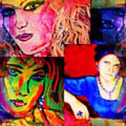 Artist Self Portrait Poster
