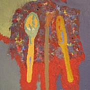 Artist's Pallete Poster by Elizabeth Stedman