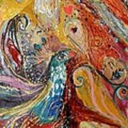 Artwork Fragment 03 Poster by Elena Kotliarker
