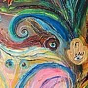 Artwork Fragment 07 Poster by Elena Kotliarker