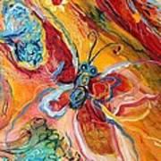Artwork Fragment 25 Poster by Elena Kotliarker