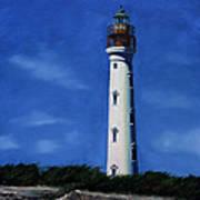 Aruba Light House Poster