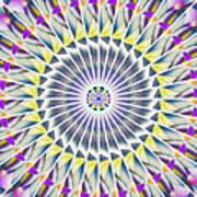 Ascending Eye Of Spirit Kaleidoscope Poster by Derek Gedney