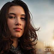 Asian Beauty Girl Poster