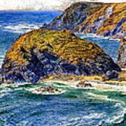 Aspargus Island Poster