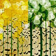 Aspen Colorado 4 Seasons Abstract Poster