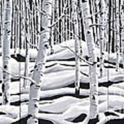 Aspens Triptych Poster
