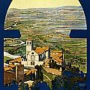 Assisi Italy Poster by Georgia Fowler