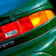 Aston Martin Db7 Taillight Poster