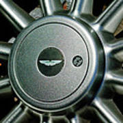Aston Martin Db7 Wheel Emblem Poster