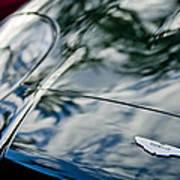 Aston Martin Hood Emblem 4 Poster
