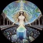 Astral Emergence Poster by Morgan Mandala Manley