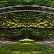 Astral Garden Entrance Poster