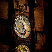 Astronomical Clock Prague Czech Republic Poster