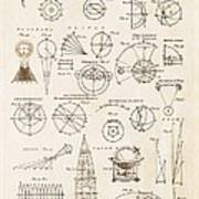 Astronomy Diagrams Poster
