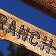 At Home On The Ranch Poster
