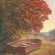 At Rest Poster by Lucie Bilodeau