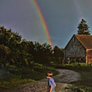At The End Of A Rainbow Poster