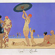 At The Lido Poster