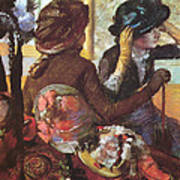 At The Milliner's  Poster