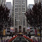 At The Rockefeller Center Poster
