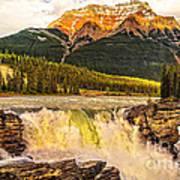 Athabasca Fall Poster