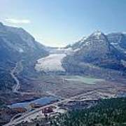 1m3735-athabasca Glacier Poster
