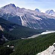Athabasca River Valley Poster
