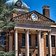 Athens Alabama Historical Courthouse Poster