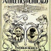 Athletics Vs Chicago 1929 World Series Poster