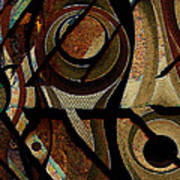 Atlanta Earth Abstract Art Poster