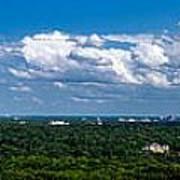 Atlanta From High Poster