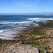 Atlantic Ocean Shore In Estoril Poster