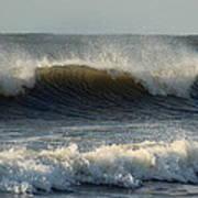 Atlantic Ocean Wave Poster